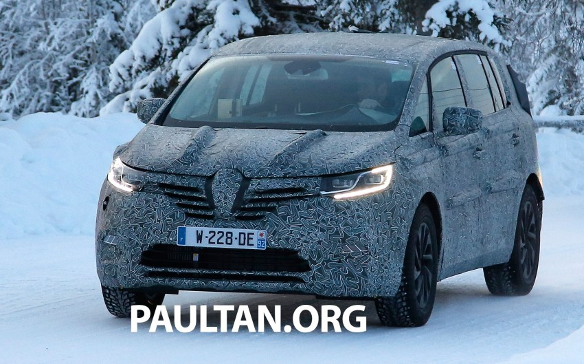 SPYSHOTS: Renault Espace – next generation French MPV to ride higher like a crossover Image #253046