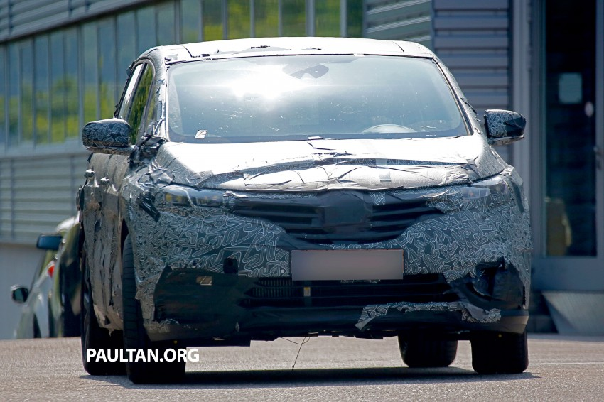 SPYSHOTS: Renault Espace – next generation French MPV to ride higher like a crossover Image #253061