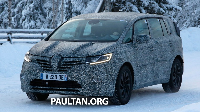 SPYSHOTS: Renault Espace – next generation French MPV to ride higher like a crossover Image #253055