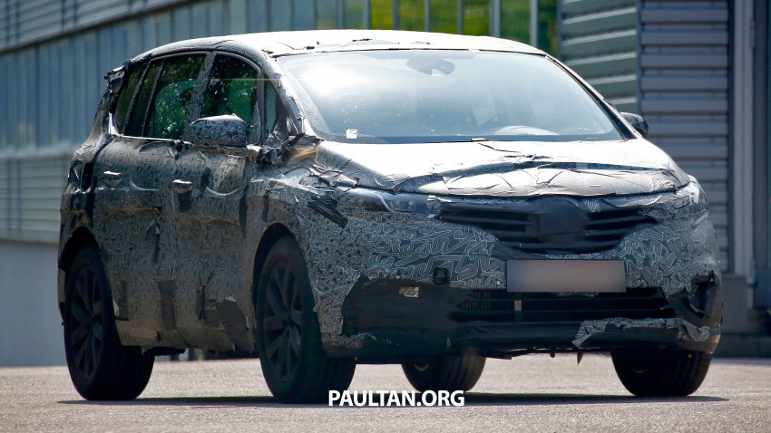 SPYSHOTS: Renault Espace – next generation French MPV to ride higher like a crossover Image #253060