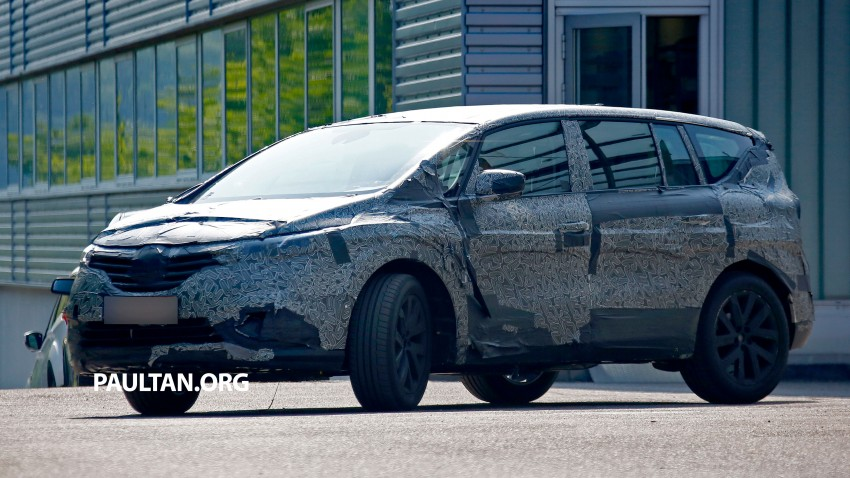 SPYSHOTS: Renault Espace – next generation French MPV to ride higher like a crossover Image #253059