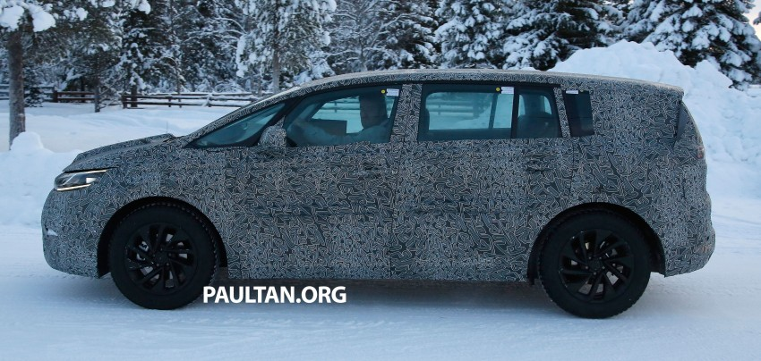 SPYSHOTS: Renault Espace – next generation French MPV to ride higher like a crossover Image #253053