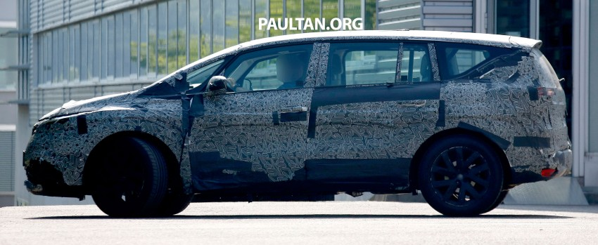 SPYSHOTS: Renault Espace – next generation French MPV to ride higher like a crossover Image #253058