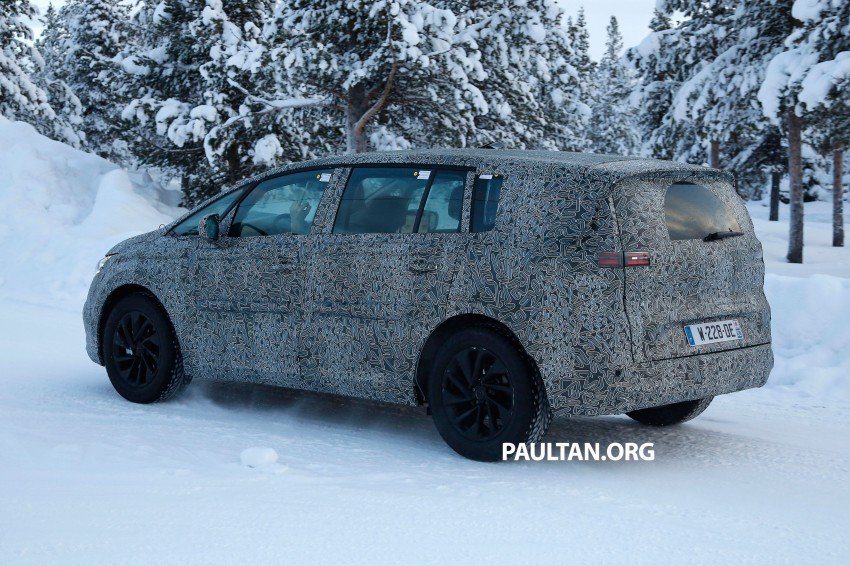 SPYSHOTS: Renault Espace – next generation French MPV to ride higher like a crossover Image #253049