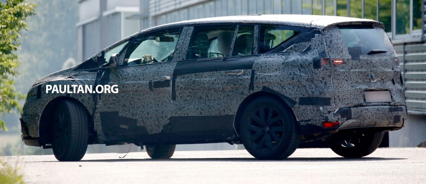 SPYSHOTS: Renault Espace – next generation French MPV to ride higher like a crossover Image #253056