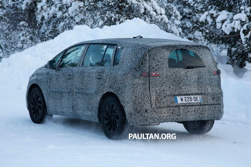 SPYSHOTS: Renault Espace – next generation French MPV to ride higher like a crossover Image #253050
