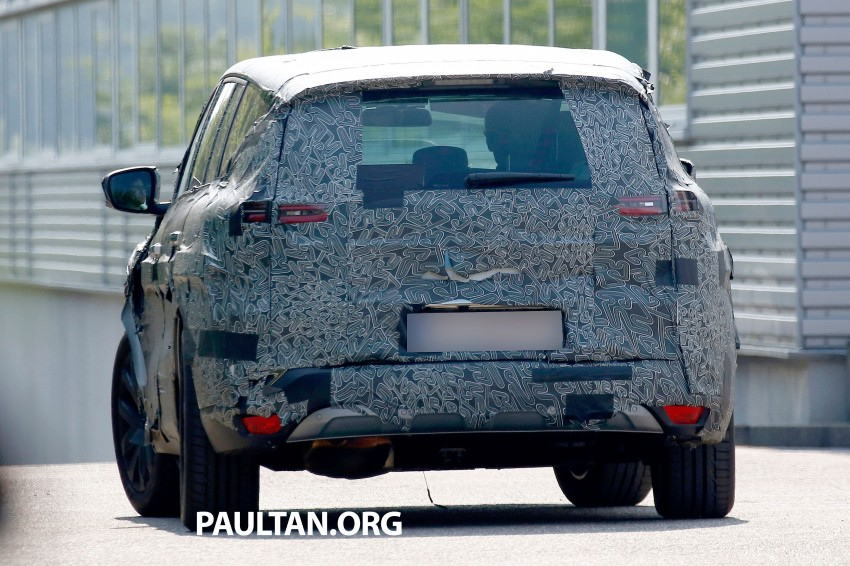SPYSHOTS: Renault Espace – next generation French MPV to ride higher like a crossover Image #253057