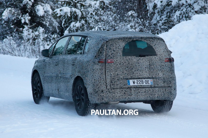 SPYSHOTS: Renault Espace – next generation French MPV to ride higher like a crossover Image #253051