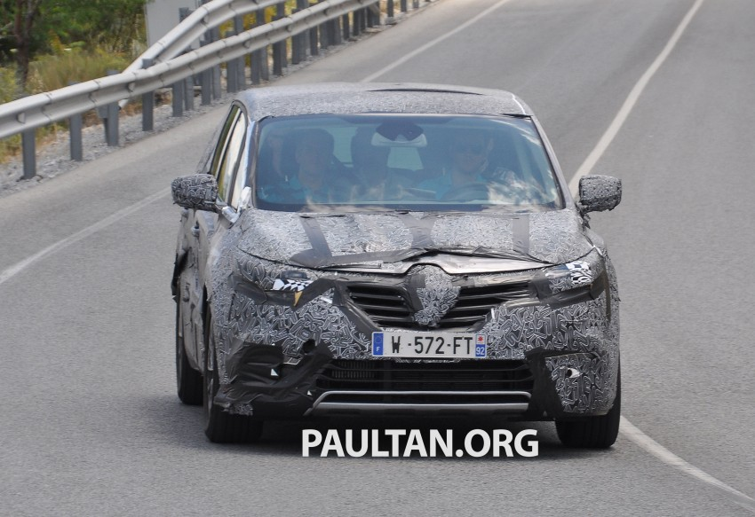 SPYSHOTS: Renault Espace – next generation French MPV to ride higher like a crossover Image #255195