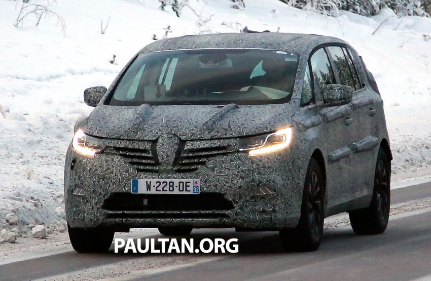 SPYSHOTS: Renault Espace – next generation French MPV to ride higher like a crossover Image #253045