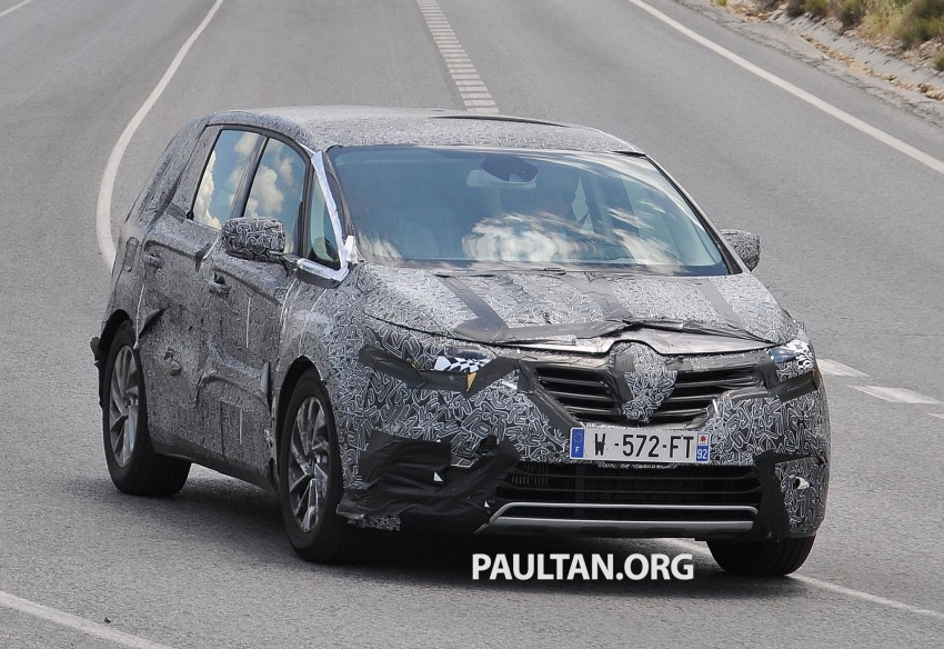 SPYSHOTS: Renault Espace – next generation French MPV to ride higher like a crossover Image #255194