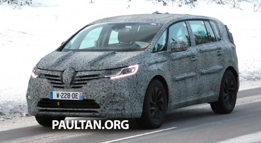 SPYSHOTS: Renault Espace – next generation French MPV to ride higher like a crossover Image #253044