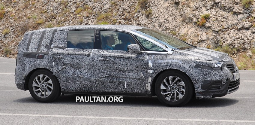 SPYSHOTS: Renault Espace – next generation French MPV to ride higher like a crossover Image #255190