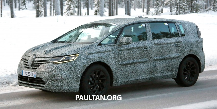 SPYSHOTS: Renault Espace – next generation French MPV to ride higher like a crossover Image #253047