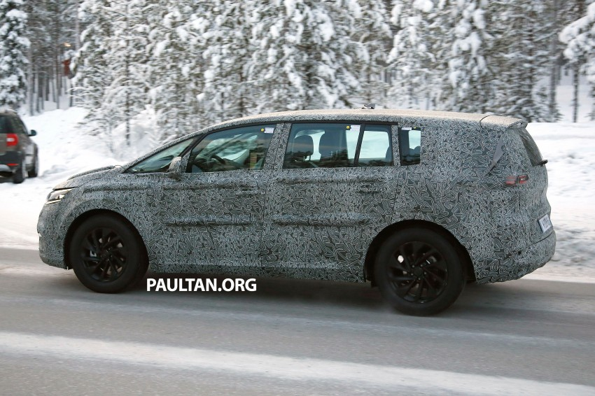 SPYSHOTS: Renault Espace – next generation French MPV to ride higher like a crossover Image #253042