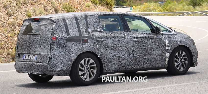 SPYSHOTS: Renault Espace – next generation French MPV to ride higher like a crossover Image #255192