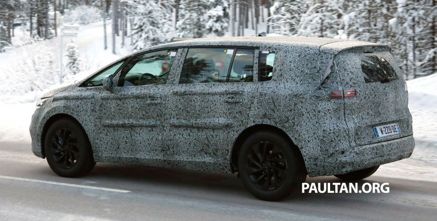 SPYSHOTS: Renault Espace – next generation French MPV to ride higher like a crossover Image #253043