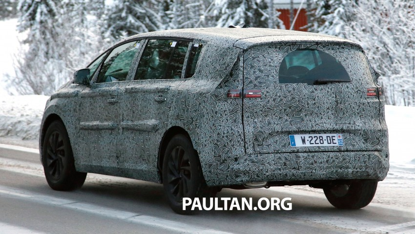 SPYSHOTS: Renault Espace – next generation French MPV to ride higher like a crossover Image #253048