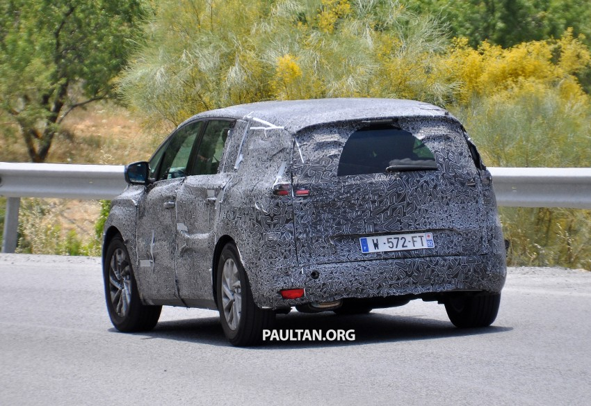 SPYSHOTS: Renault Espace – next generation French MPV to ride higher like a crossover Image #255193