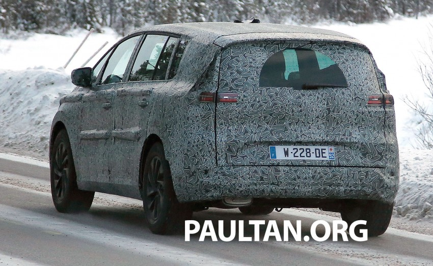 SPYSHOTS: Renault Espace – next generation French MPV to ride higher like a crossover Image #253041