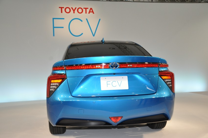 Toyota Fuel Cell Sedan unveiled – production version to go on sale in Japan in 2015, priced at US$69k Image #255780