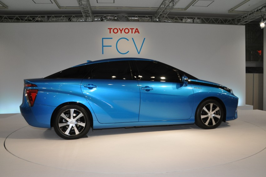 Toyota Fuel Cell Sedan unveiled – production version to go on sale in Japan in 2015, priced at US$69k Image #255782