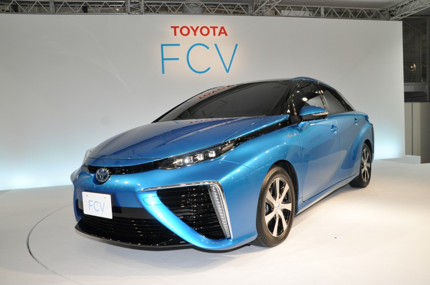 Toyota Fuel Cell Sedan unveiled – production version to go on sale in Japan in 2015, priced at US$69k Image #255763