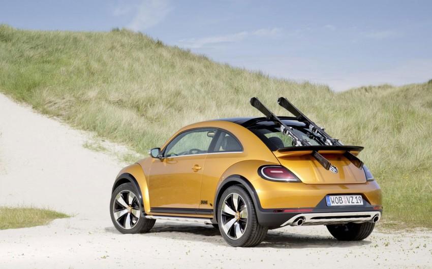 Volkswagen Beetle Dune – from show floor to tarmac Image #255434