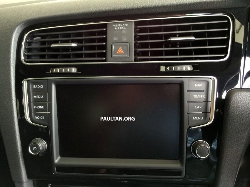 Volkswagen Golf 2014 Volkswagen Golf r Mk7 Interior