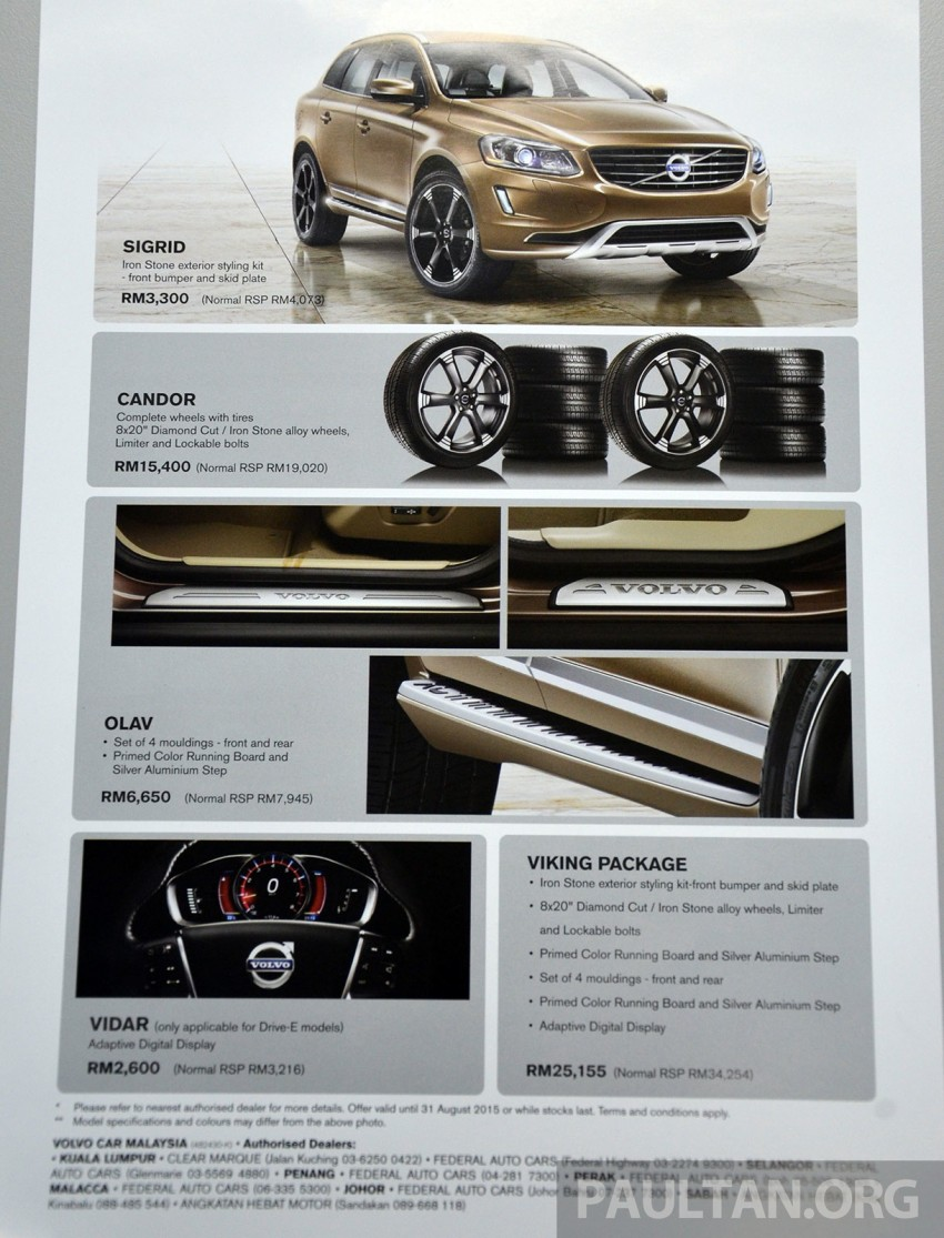 Volvo XC60 T5 Facelift launched – Drive-E, RM289k Image #254871