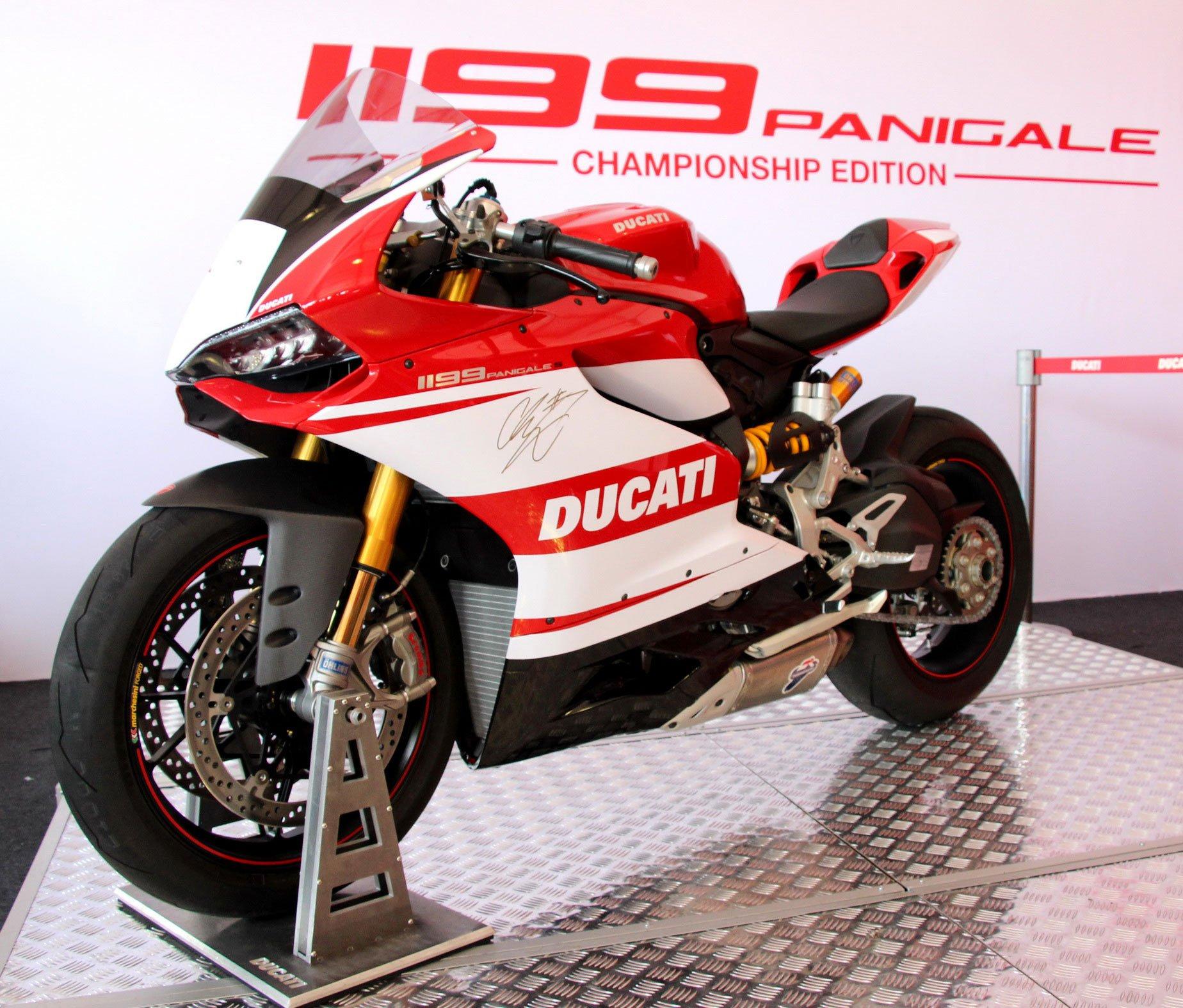 ducati 1199 panigale championship edition, 10 units
