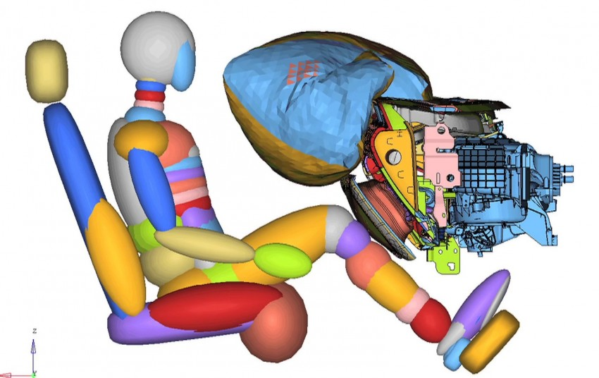 Ford to debut active glovebox knee airbag system Image #255027