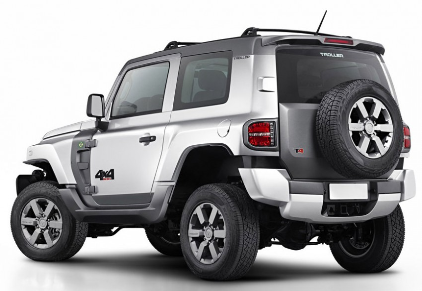 Troller T4 – Ford builds a Jeep-like 4WD for Brazil Image #251286