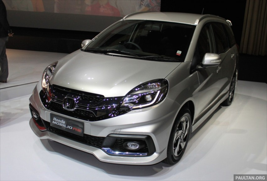Honda Mobilio RS range-topper launched in Indonesia Image #255010