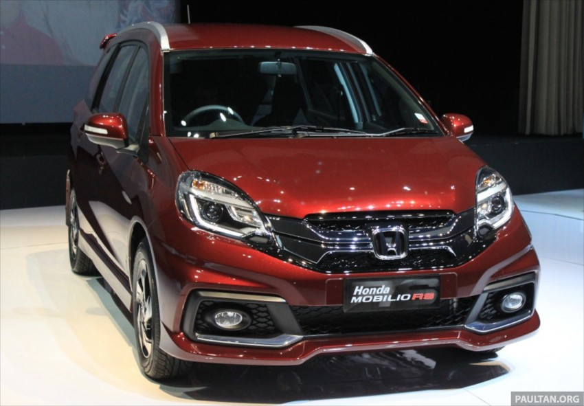 Honda Mobilio RS range-topper launched in Indonesia Image #255005