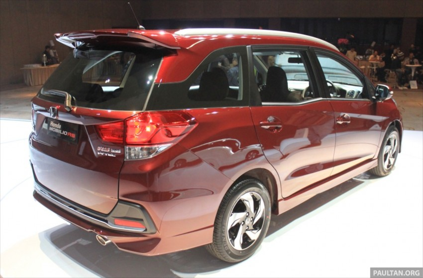 Honda Mobilio RS range-topper launched in Indonesia Image #255006