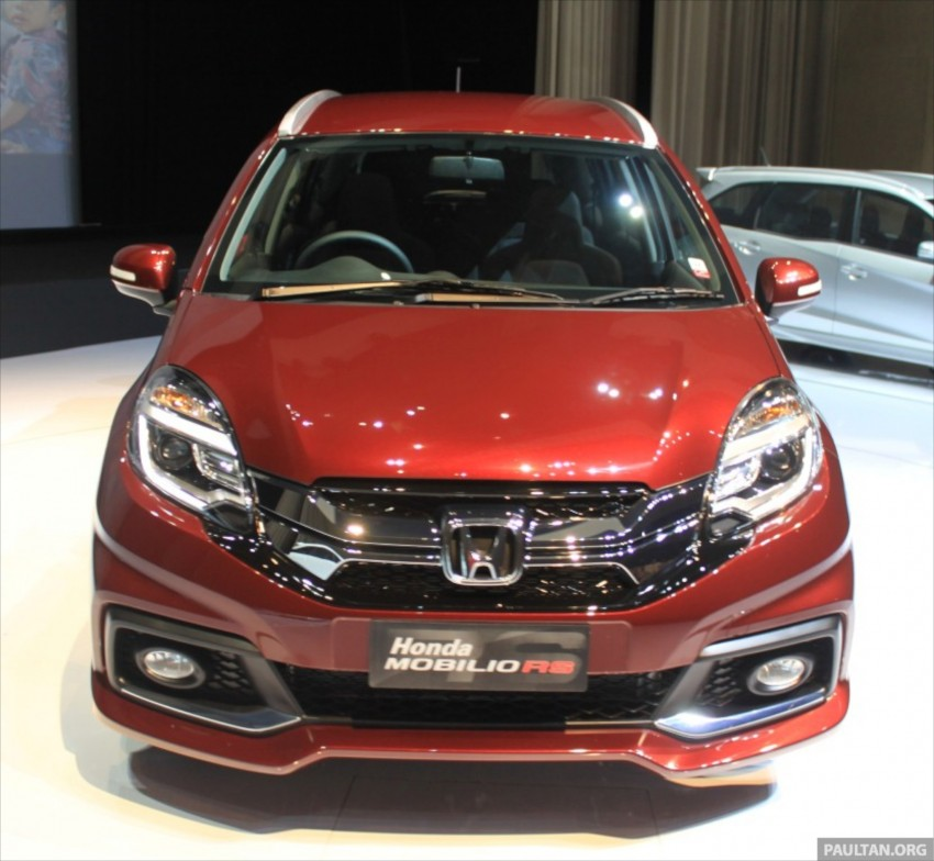 Honda Mobilio RS range-topper launched in Indonesia Image #255008