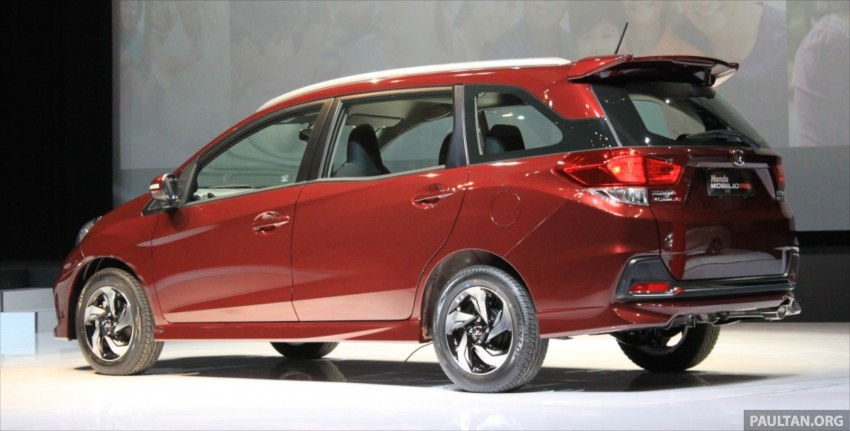 Honda Mobilio RS range-topper launched in Indonesia Image #255011