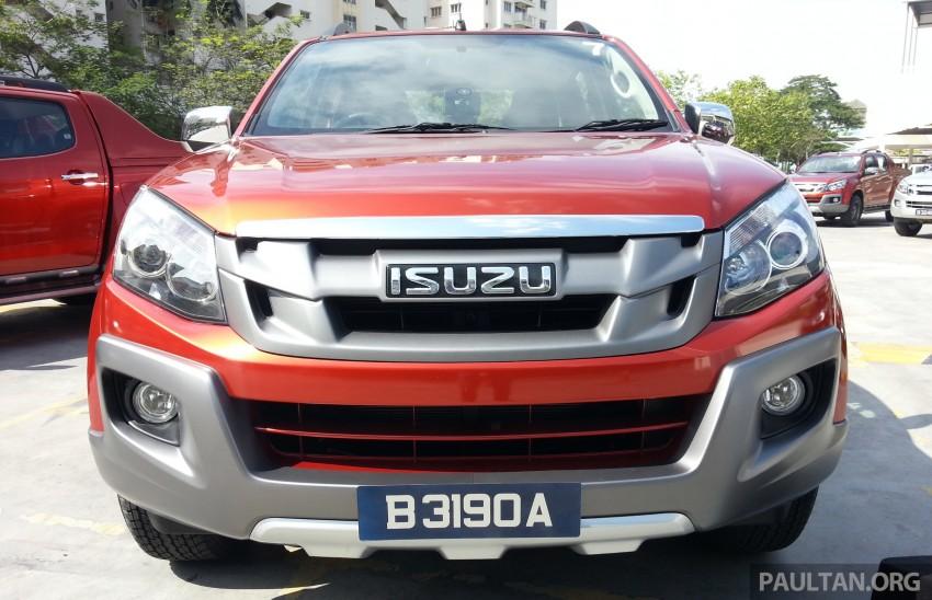 Isuzu D-Max V-Cross 3.0L introduced – RM101k-118k Image #254026