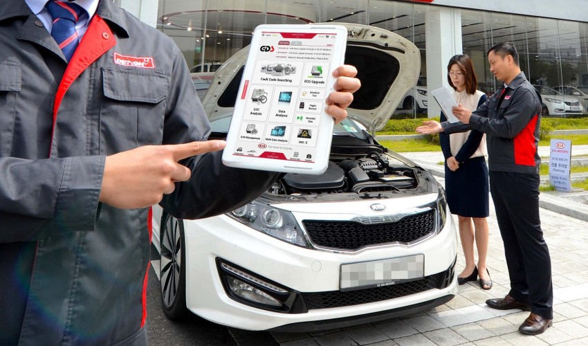 Kia launches global mobile vehicle diagnostics system Image #251347