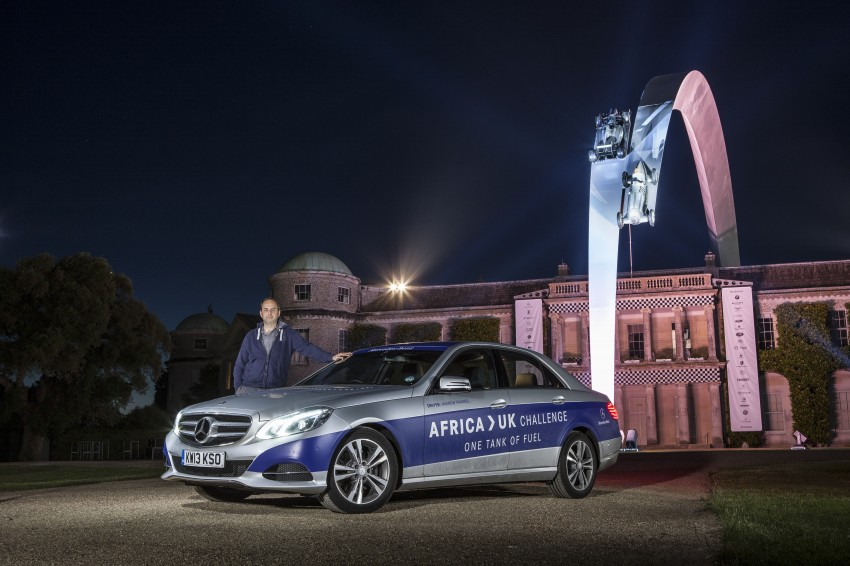 Mercedes-Benz E 300 BlueTEC Hybrid shows what diesel hybrid can do – Africa-UK on one tank Image #256198