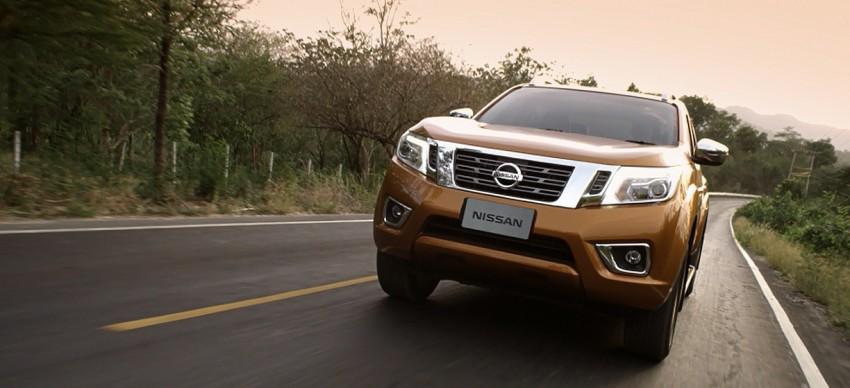 Nissan NP300 Navara unveiled in Thailand: 7spd auto! Image #253211