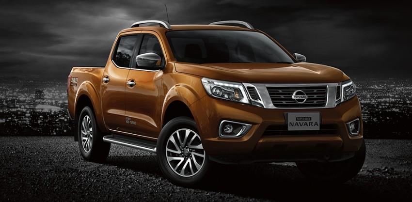 Nissan NP300 Navara unveiled in Thailand: 7spd auto! Image #253215