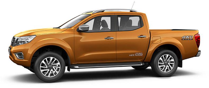 Nissan NP300 Navara unveiled in Thailand: 7spd auto! Image #253220