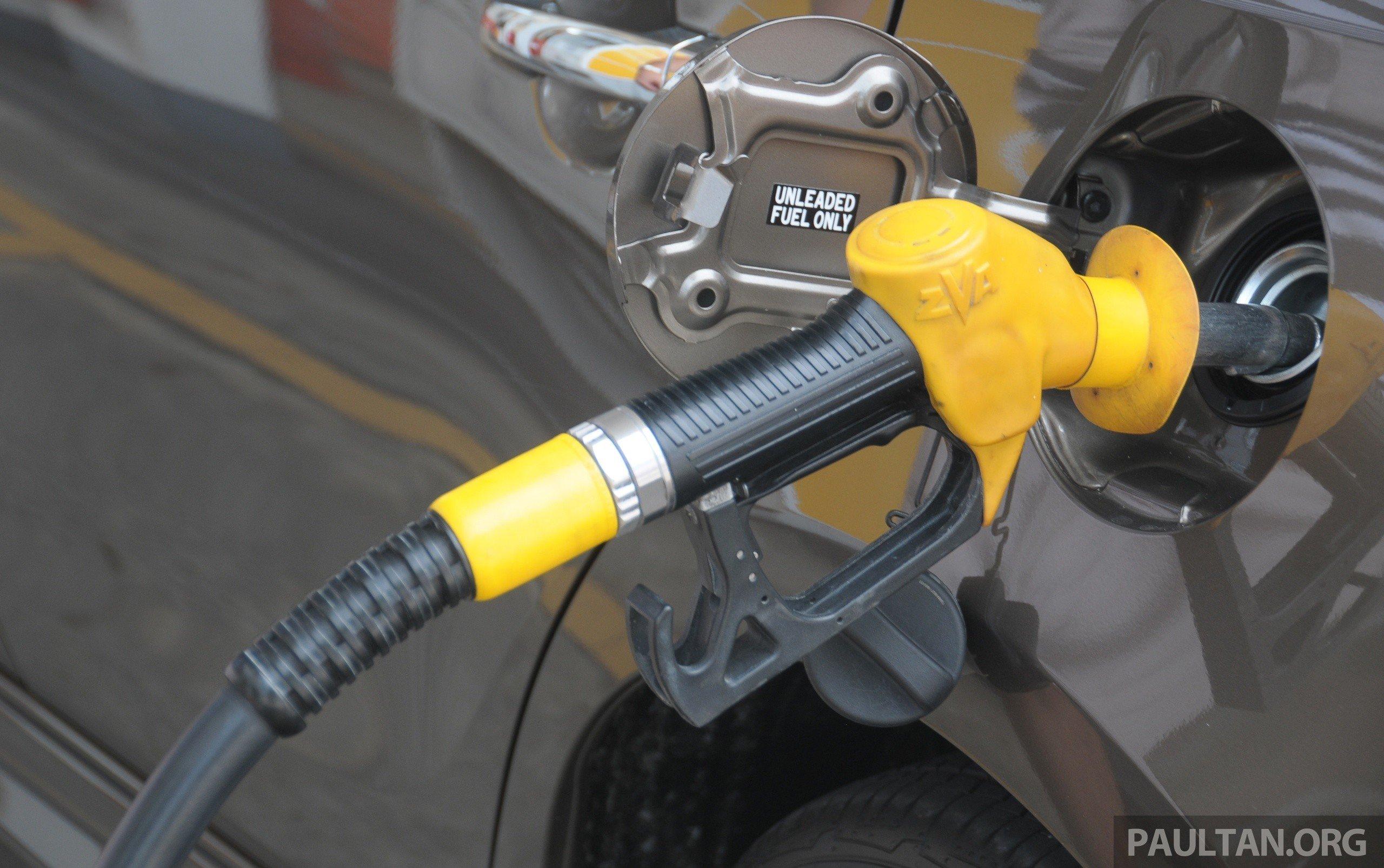 RON 95 RM1.91, RON 97 RM2.11, diesel RM1.93, per litre