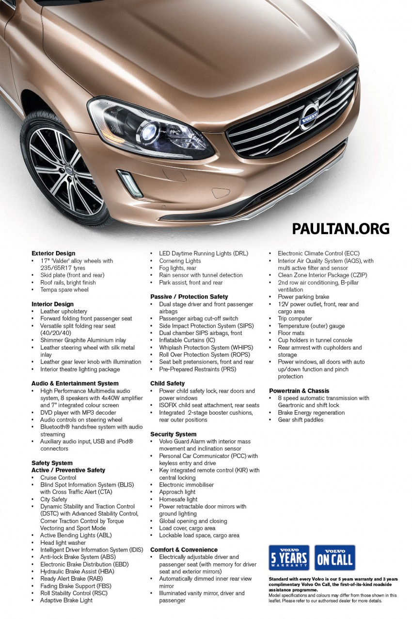 Volvo XC60 T5 Facelift launched – Drive-E, RM289k Image #254892