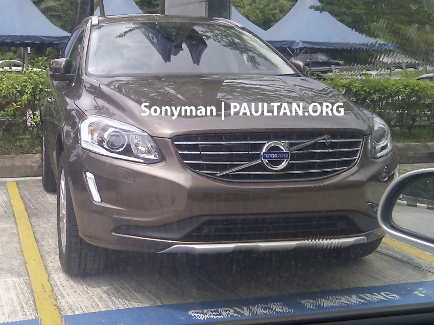 SPIED: Volvo XC60 facelift already in showrooms? Image #251042