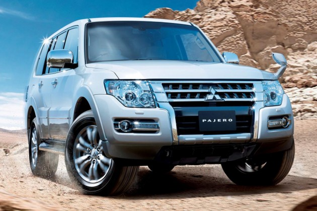 Mitsubishi Pajero facelift goes on sale in Japan