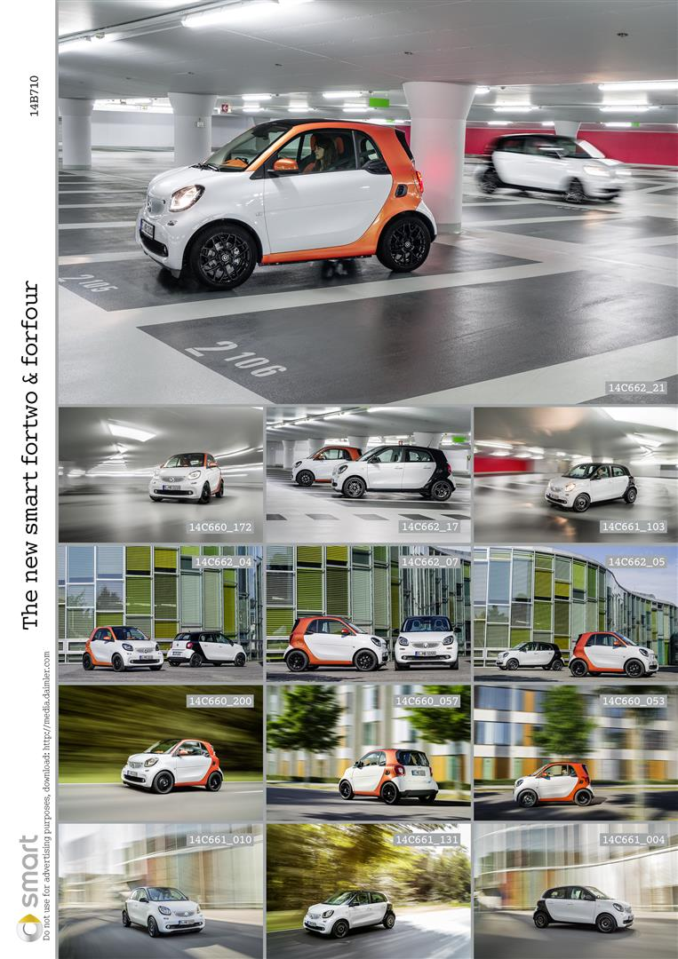 2015 smart fortwo and smart forfour city cars unveiled Image #259506