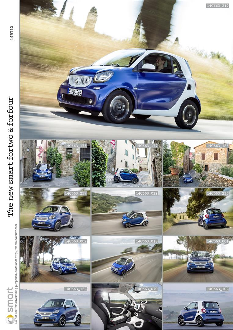 2015 smart fortwo and smart forfour city cars unveiled Image #259505